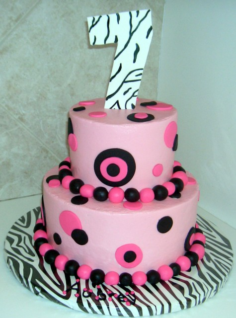 Jadyns 7th birthday cake